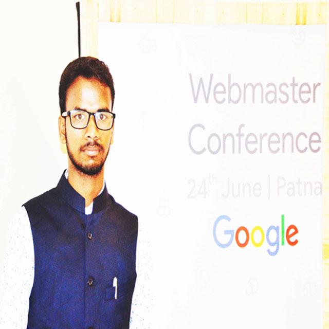 Blogger Rohit Kumar
