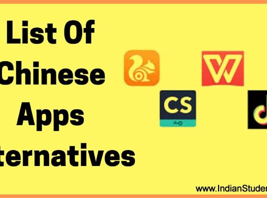 India Banned 59 Chinese Apps Alternatives in Hindi 2020